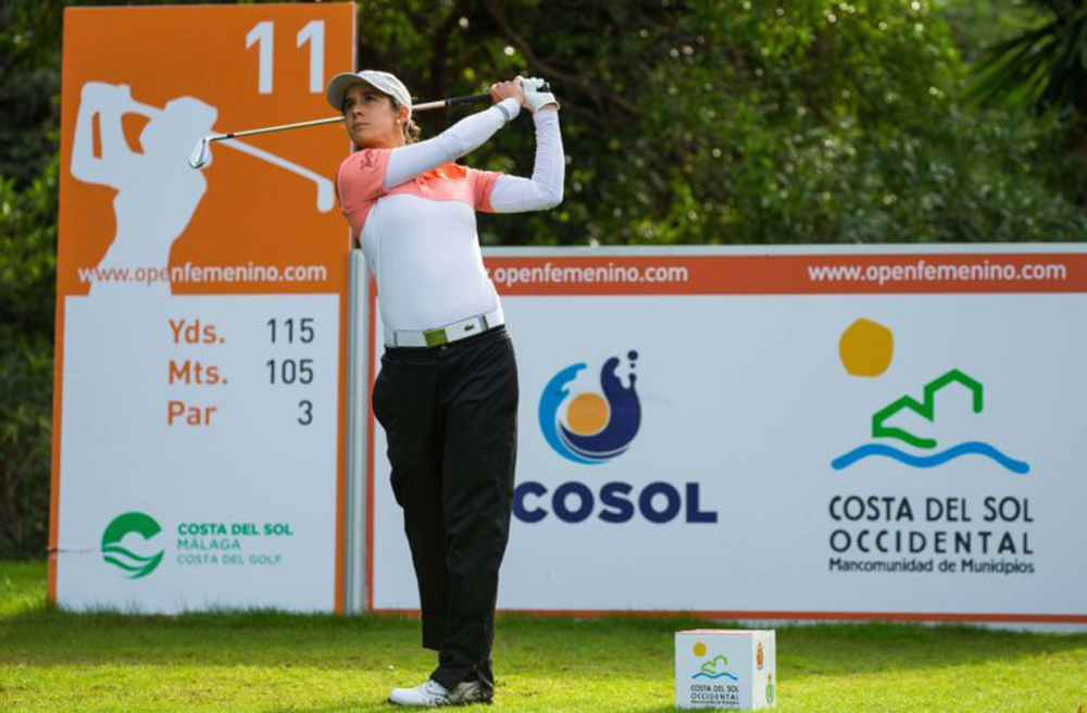 MUÑOZ LEADS BY ONE SHOT AT LA QUINTA