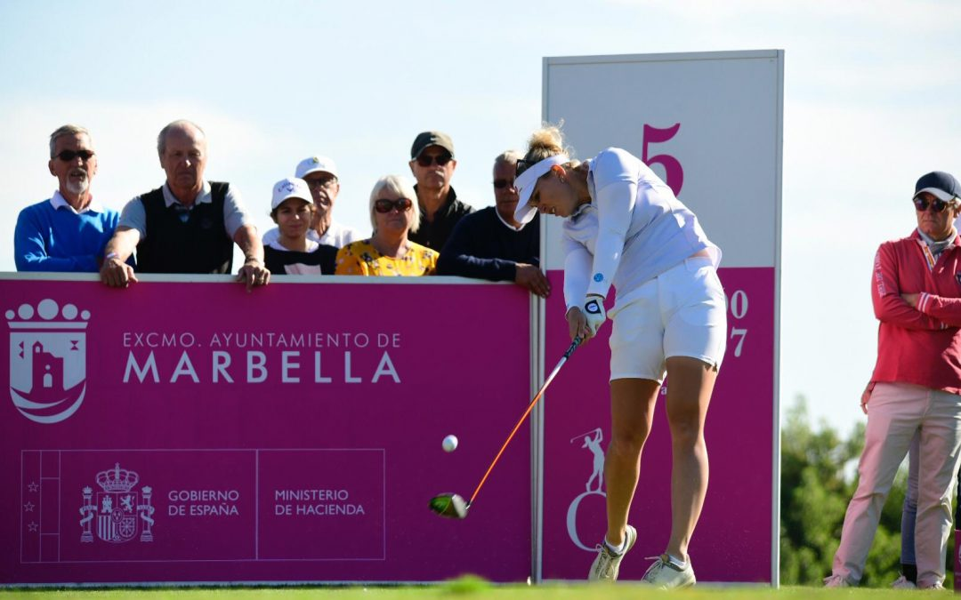 A LARGE GROUP OF ASPIRANTS TO THE TITLE IN THE ANDALUCIA COSTA DEL SOL OPEN DE ESPAÑA FEMENINO