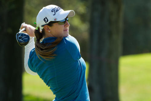 Amelia Lewis of the USA during the first round 2-g