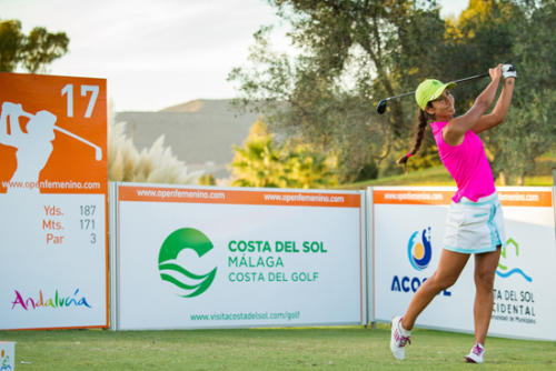 Piti Martinez-Bernal of Spain during the first round-g